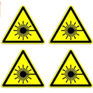 Dealzepic Yellow Triangle Warning Sign