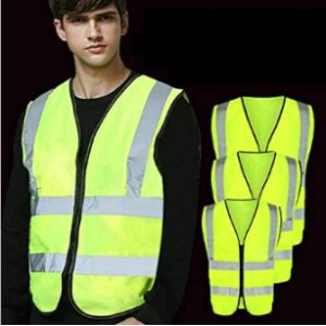 Qeedio High Visibility Vest With Zipper