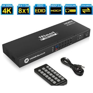 Visit The Tesmart Store Auto Detect Hdmi Switch