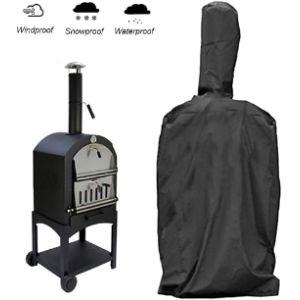 Winnerruby Smoker Wood Fired Pizza Oven
