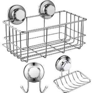 Arcci S Suction Cup Bathroom Shelf