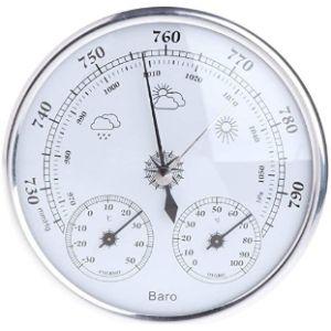 Zeagro Outdoor Thermometer Hygrometer Barometer
