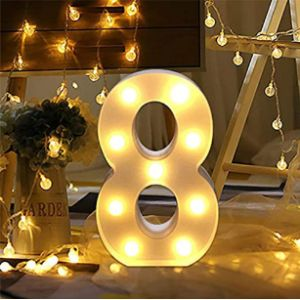 Bainuojia Lighting Number 8