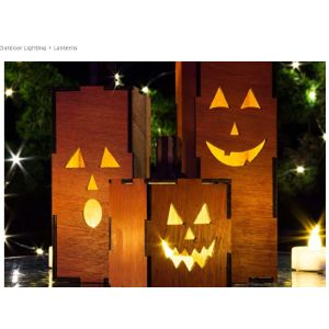 The Personalized Gift Co Led Lantern Halloween