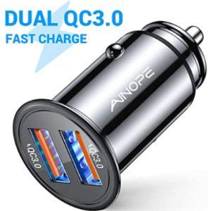 Ainope Cigarette Lighter Socket Battery Charger