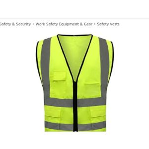 Mlxfgbx Cotton High Visibility Vest
