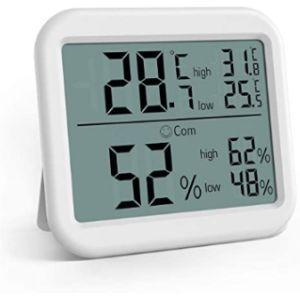 Visit The Criacr Store Digital Hygrometer Min Max Thermometer