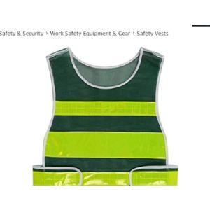 Yaya Dark Green Safety Vest