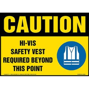 J. J. Keller & Associates, Inc. Safety Sign Hi Vis Vest