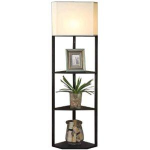 Piaoling Floor Lamps Corner Shelf Light