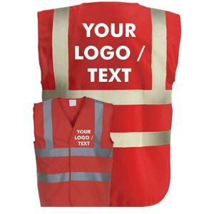 Corporate Togs Red Safety Vest