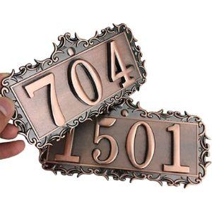 Lontg Vintage House Number