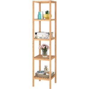 Homfa Freestanding Bathroom Shelf