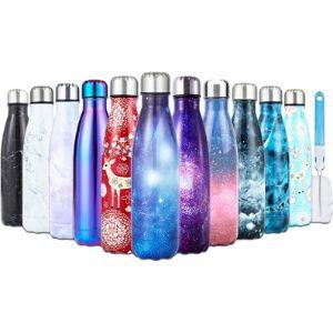 I Kua Fly Double Wall Vacuum Water Bottle