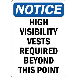 Keapsign Required Sign Safety Vest