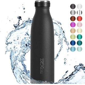 720°Dgree Review Stainless Steel Baby Bottle