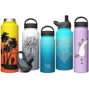 Involve & Evolve Wide Mouth Insulated Water Bottle
