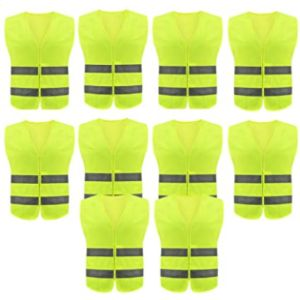 Sunflower-Boom Yellow Reflective Safety Vest