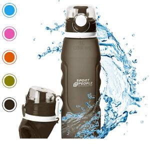 Sport2People Collapsible Water Bottle Silicone