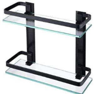 Kes Custom Size Glass Shelf
