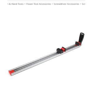 Tutoy Cutting Guide Aluminum Straight Edge