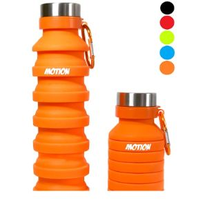 Motion Wide Mouth Collapsible Water Bottle