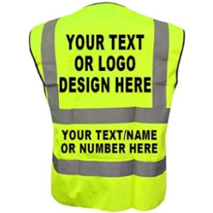 Wm Sports Safety Vest Design