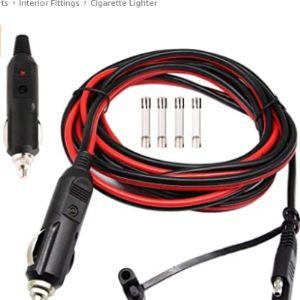 Gtiwung Car Polarity Cigarette Lighter Plug