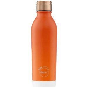 Root7 Orange Stainless Steel Water Bottle