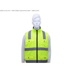 Cotton Reflective Safety Vest