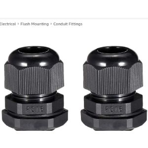 Sourcing Map Cable Gland Locknut