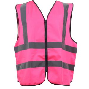 Blackrock Pink High Visibility Vest