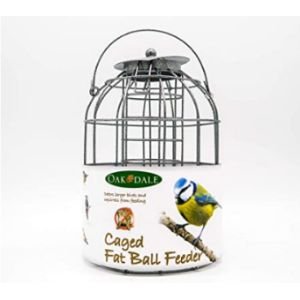 Oakdale Products Caged Fat Ball Bird Feeder