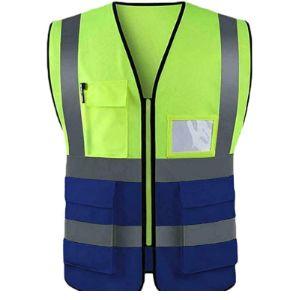 True Face Velcro Safety Vest