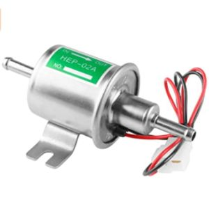 Leiwoor Electric Fuel Pump With Carburetor