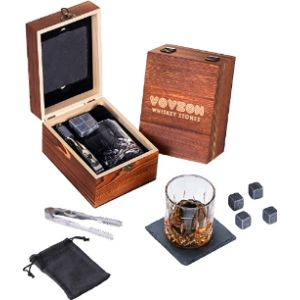 Vovzon Glass Whiskey Stone