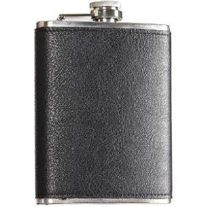 Sckl Vintage Leather Hip Flask