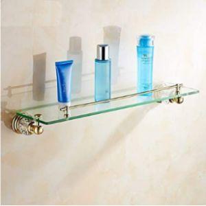 Hewei Gold Bathroom Shelf