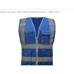 Othmro Law High Visibility Vest
