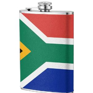 Nr South Africa Stainless Steel Hip Flask