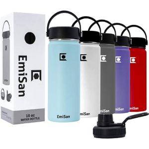 Emisan Health Stainless Steel Water Bottle
