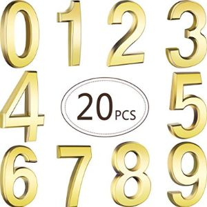 Gold House Number