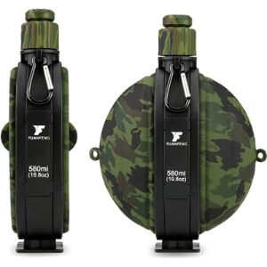 Cestmall Collapsible Water Bottle Silicone