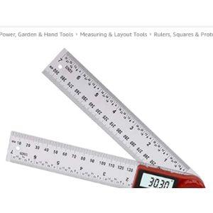 B Blesiya Definition Angle Ruler