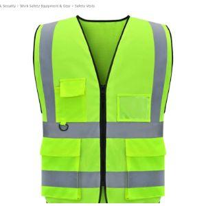 Lioobo Construction Reflective Safety Vest