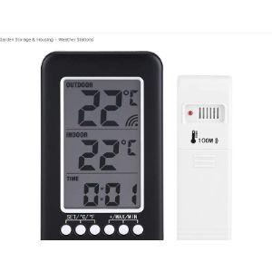 Bicaquu Outdoor Digital Thermometer Wireless