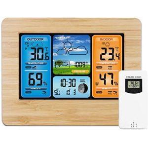 Darmai Indoor La Crosse Outdoor Thermometer
