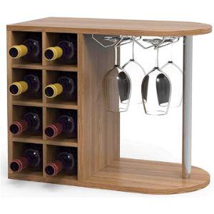 Gr8 Home Glass Shelf Display Cabinet