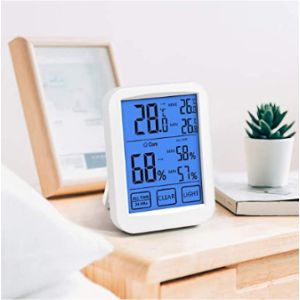 Volador Digital Hygrometer Min Max Thermometer