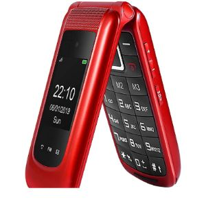 Generic Red Flip Phone